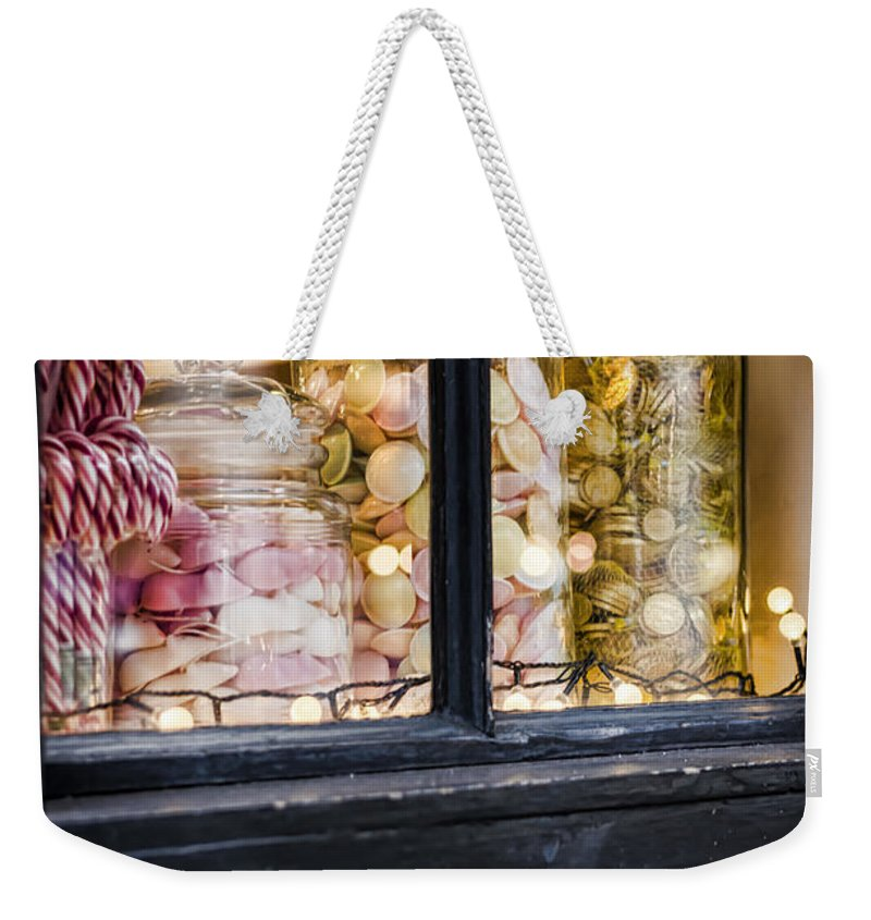 Sweet Weekender Tote Bag featuring the photograph Sweet Shop by Heather Applegate