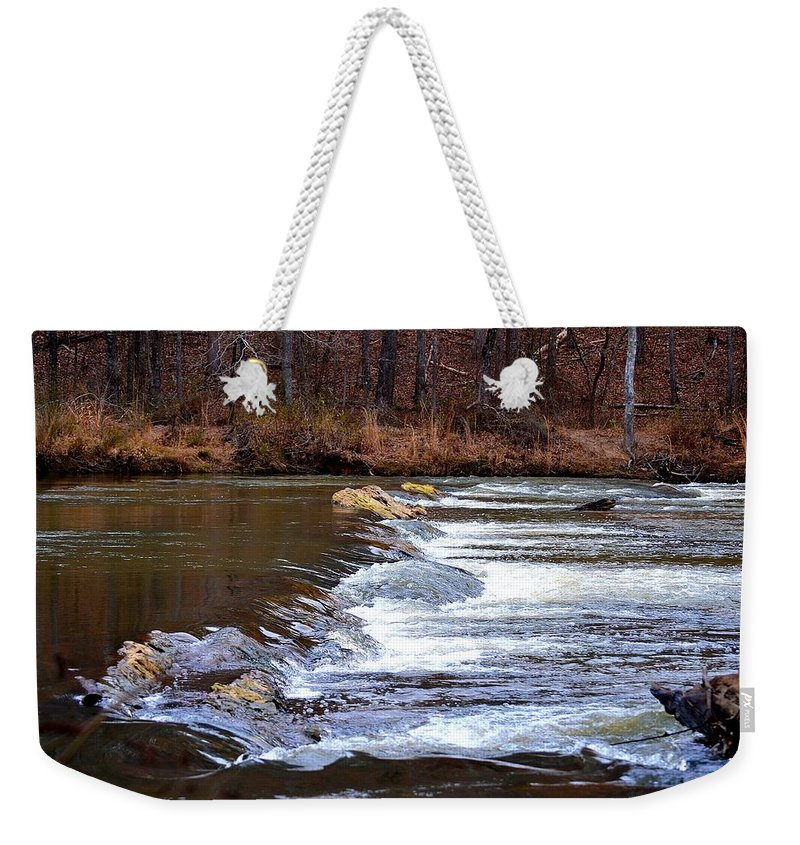 Sweetwater Creek State Park Weekender Tote Bag featuring the photograph Sweetwater Creek by Tara Potts