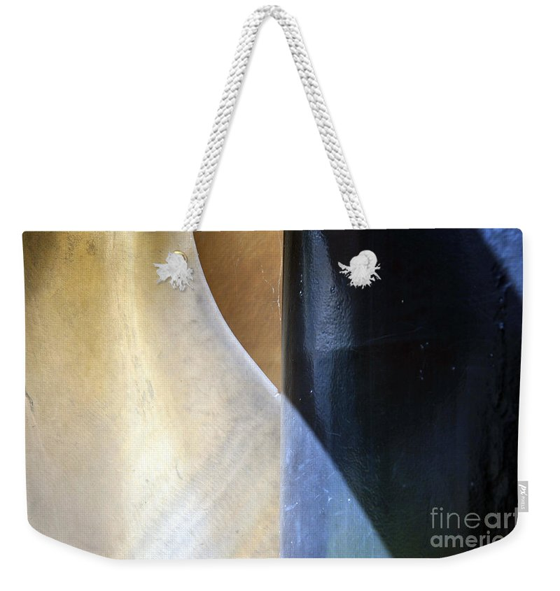 Element Weekender Tote Bag featuring the photograph Swirls And Lines by Randi Grace Nilsberg