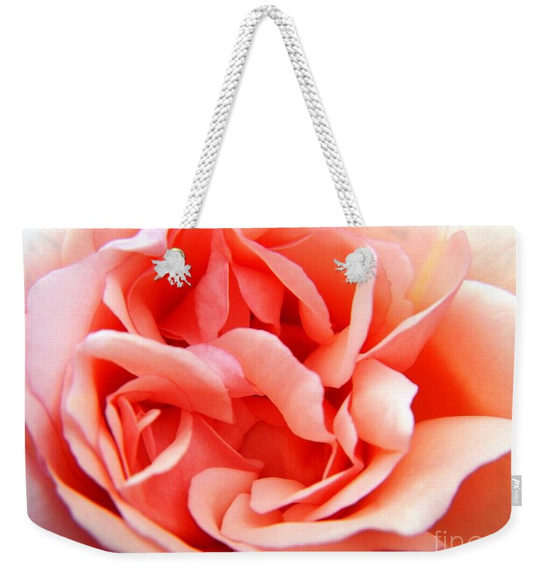 Nature Weekender Tote Bag featuring the photograph Swirls by Loreta Mickiene