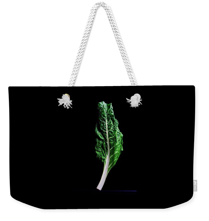Fruits Weekender Tote Bag featuring the photograph Swiss Chard by Romulo Yanes