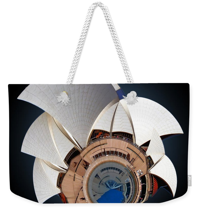 Sail Weekender Tote Bag featuring the photograph Sydney Opera House by Alex Grichenko
