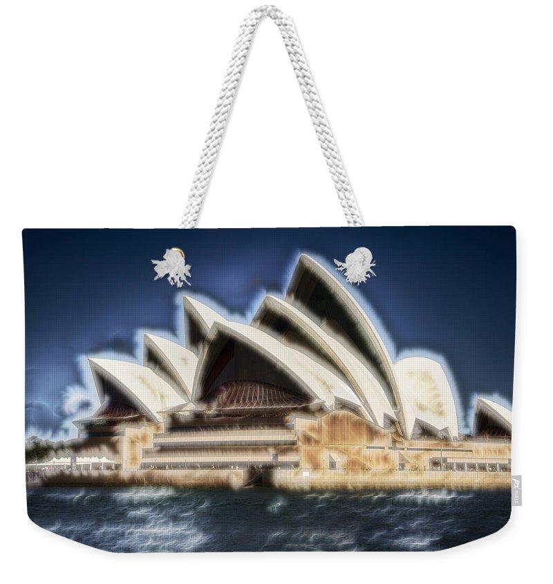Sydney Opera House Weekender Tote Bag featuring the photograph Sydney Opera House V11 by Douglas Barnard