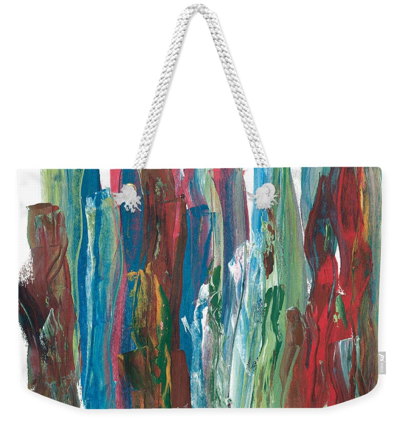 Music.symphony Weekender Tote Bag featuring the painting Symphony by Bjorn Sjogren