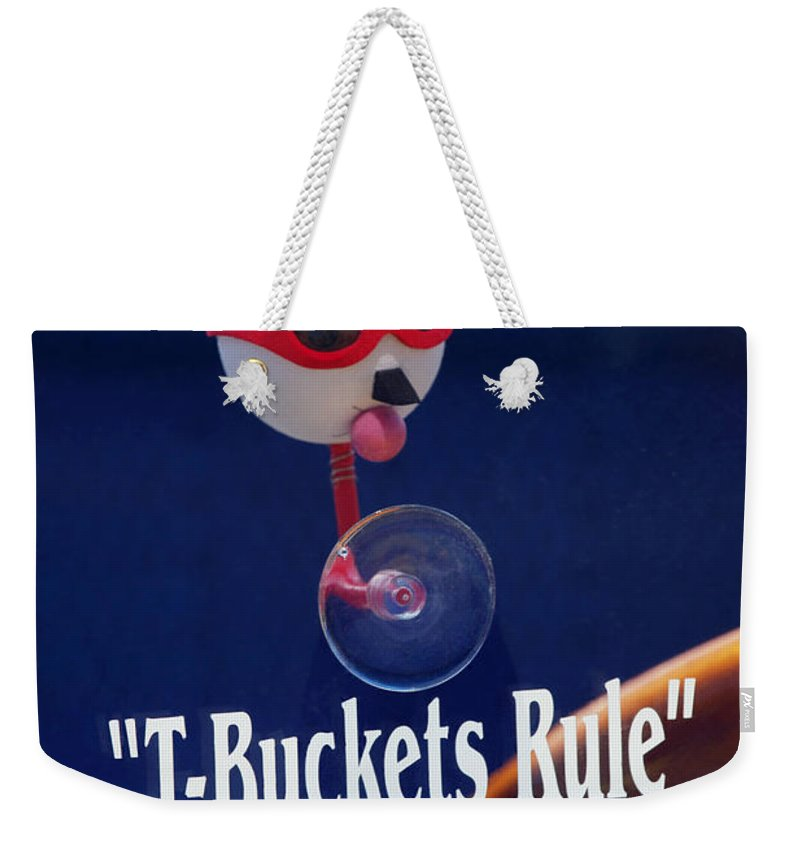 Transportation Weekender Tote Bag featuring the photograph T-buckets Rule by Jill Reger