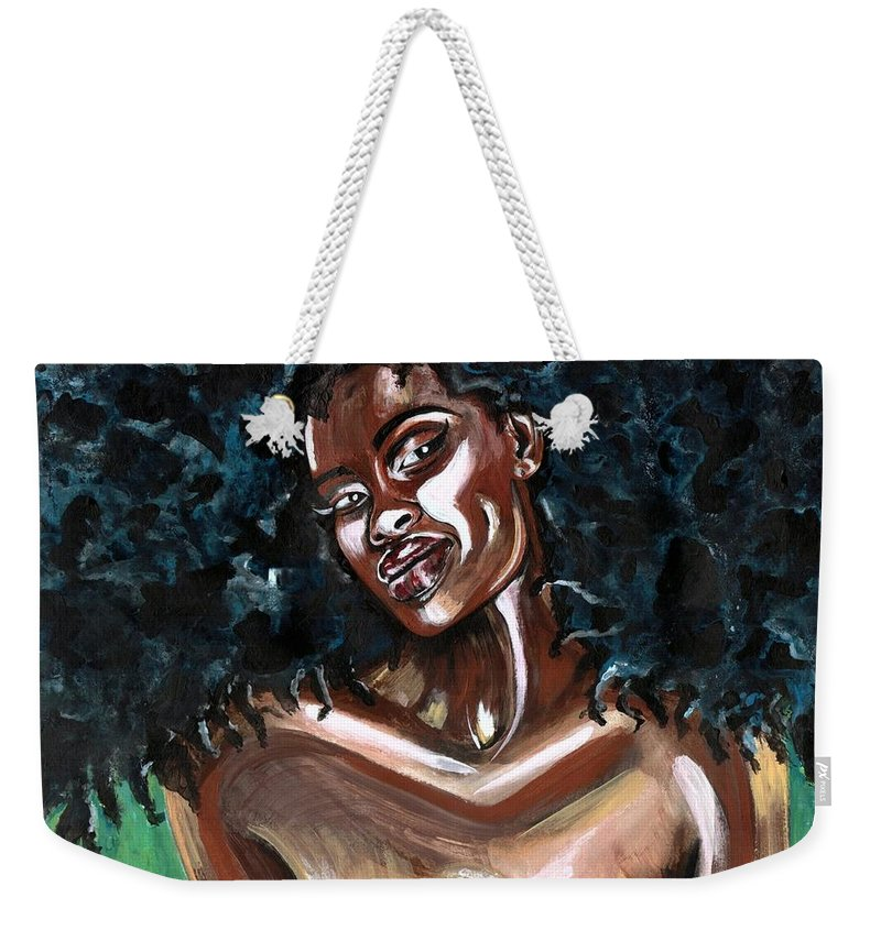 Sexy Weekender Tote Bag featuring the photograph Take Me as I AM -or have nothing at all by Artist RiA