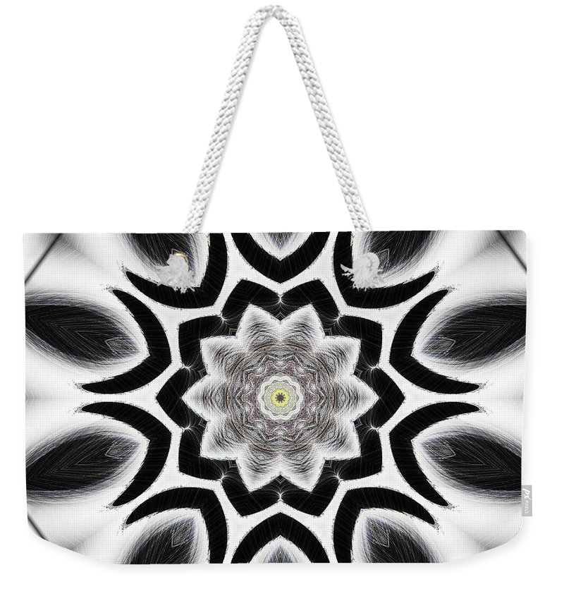 Tall Weekender Tote Bag featuring the digital art Tall Cool One by Michael Damiani