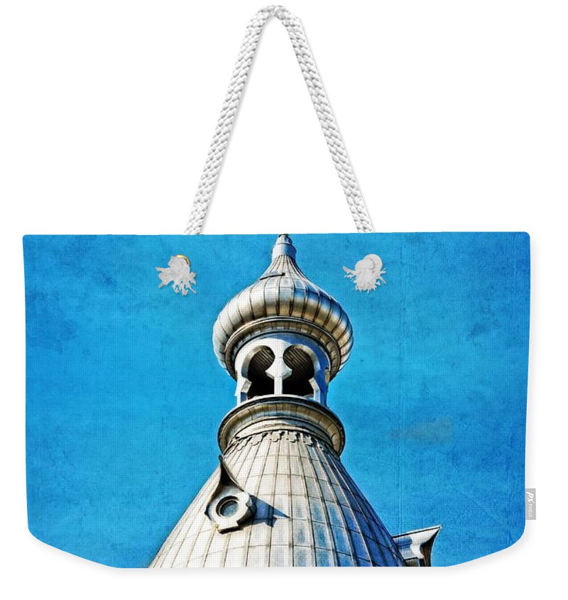 Photo Weekender Tote Bag featuring the painting Tampa Beauty - University Of Tampa Photography By Sharon Cummings by Sharon Cummings