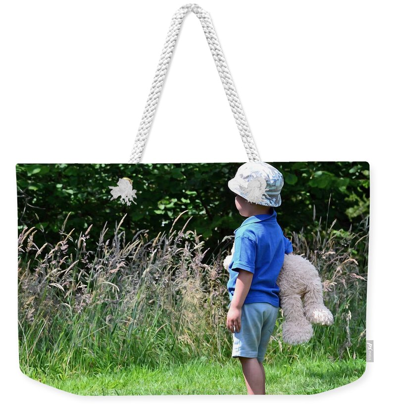 Nature Walk Weekender Tote Bag featuring the photograph Teddy Bear Walk by Keith Armstrong