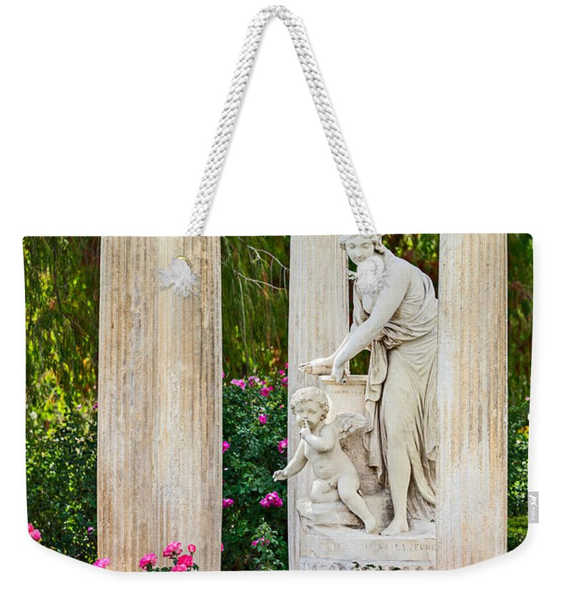 Huntington Weekender Tote Bag featuring the photograph Temple Of Love by Jamie Pham