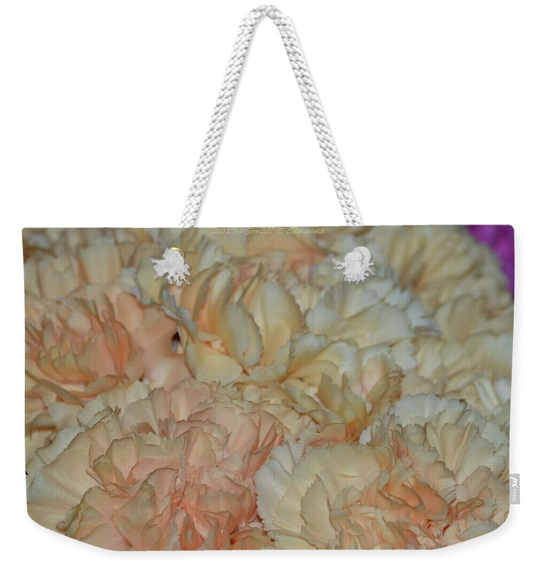 Emotional Touch Weekender Tote Bag featuring the photograph Tender Touch by Sonali Gangane