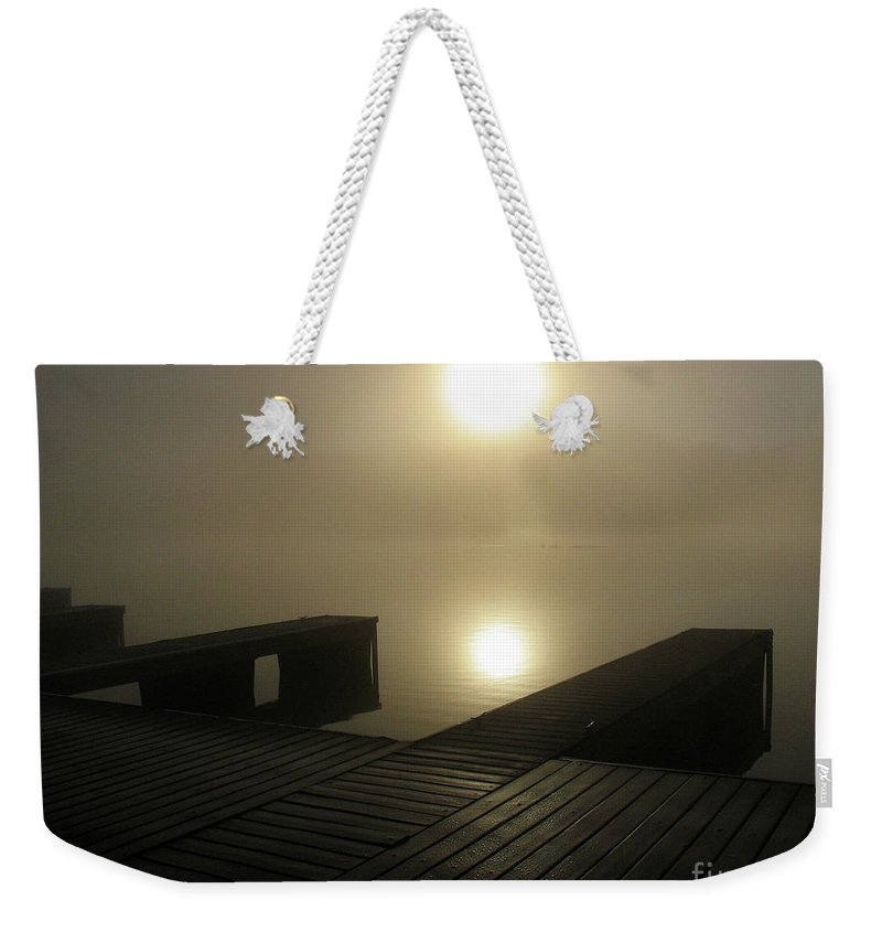 River Weekender Tote Bag featuring the photograph Tennessee River Sunrise by Douglas Stucky