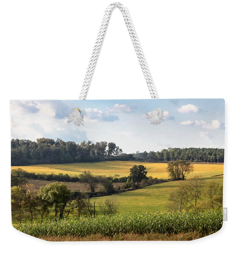 Landscape Weekender Tote Bag featuring the photograph Tennessee Valley by Todd Blanchard