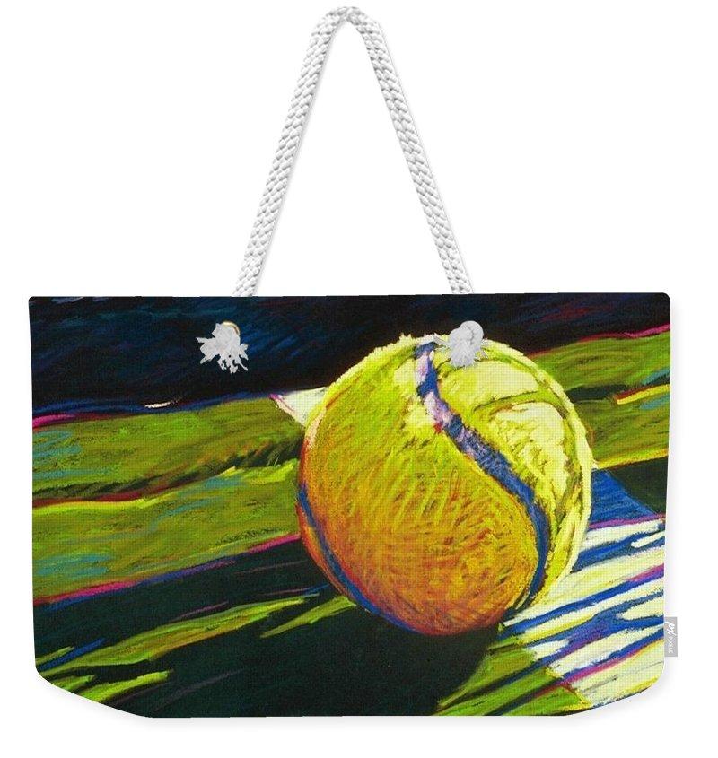 Tennis Weekender Tote Bags