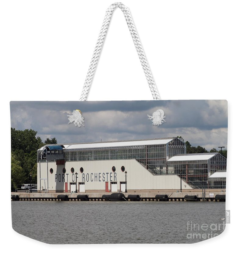 Port Of Rochester Weekender Tote Bag featuring the photograph Terminal by William Norton