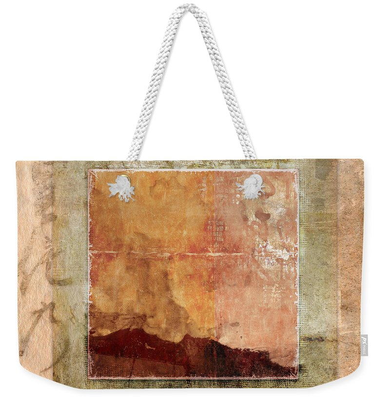 Terracotta Weekender Tote Bag featuring the photograph Terracotta Earth Tones by Carol Leigh