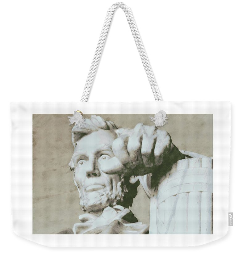 Weekender Tote Bag featuring the photograph Test by David Lange
