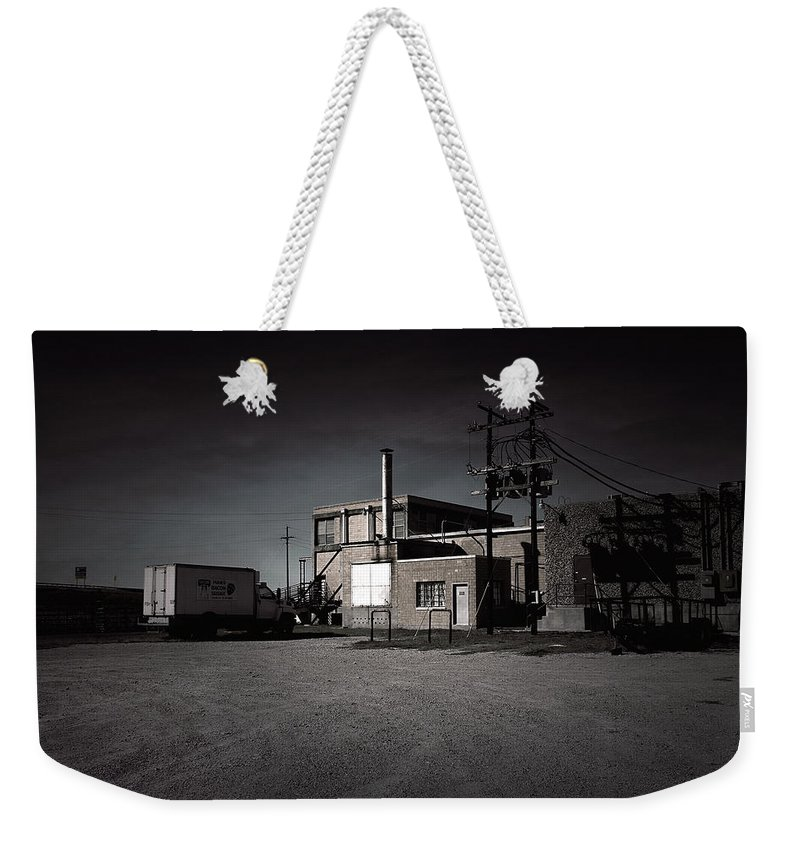Slaughterhouse Weekender Tote Bag featuring the photograph Tcm #6 - Slaughterhouse by Trish Mistric
