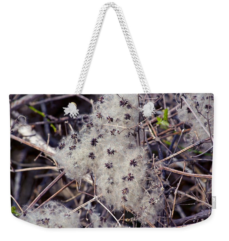 Twigs Weekender Tote Bag featuring the photograph Texture by Tikvah's Hope