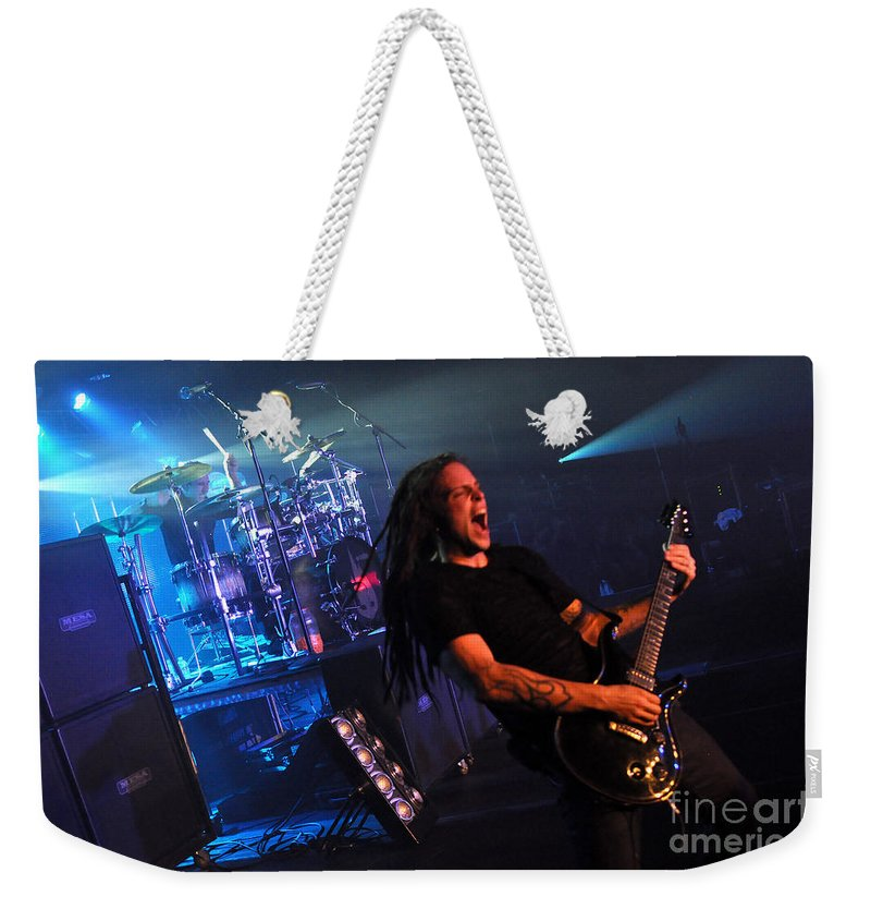 Tfk Weekender Tote Bag featuring the photograph Tfk-steve-ty-3382 by Gary Gingrich Galleries