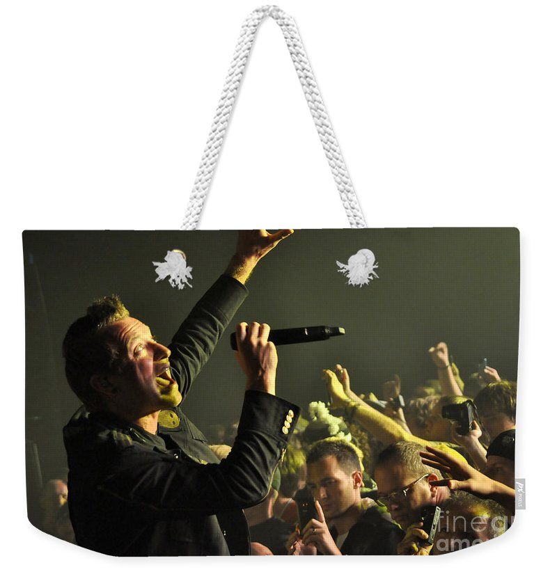 Tfk Weekender Tote Bag featuring the photograph Tfk-trevor-2831 by Gary Gingrich Galleries