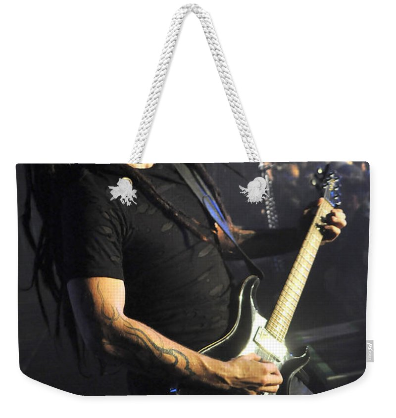 Tfk Weekender Tote Bag featuring the photograph Tfk-ty-3131 by Gary Gingrich Galleries