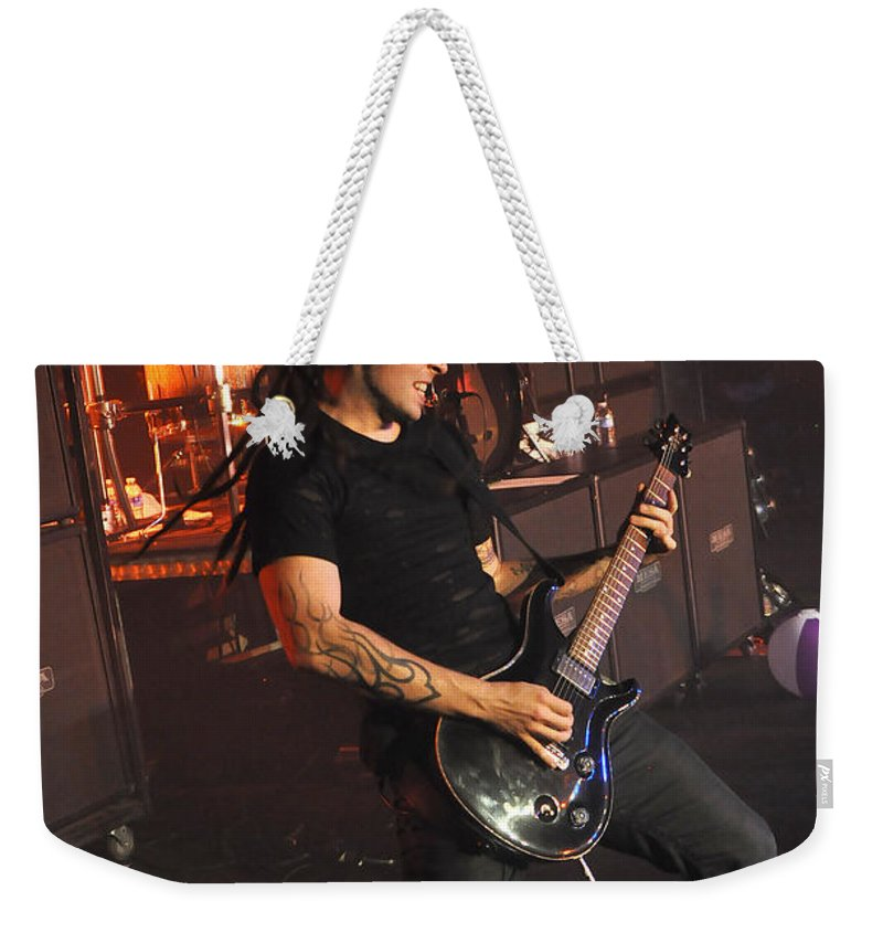 Tfk Weekender Tote Bag featuring the photograph Tfk-ty-3203 by Gary Gingrich Galleries