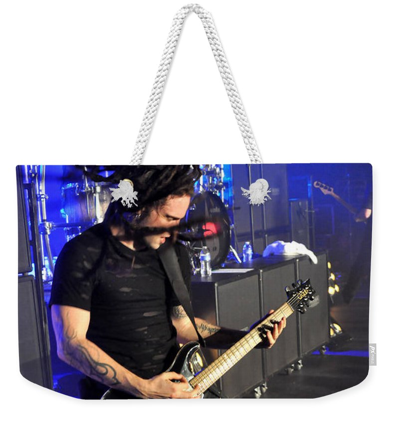 Tfk Weekender Tote Bag featuring the photograph Tfk-ty-4192 by Gary Gingrich Galleries