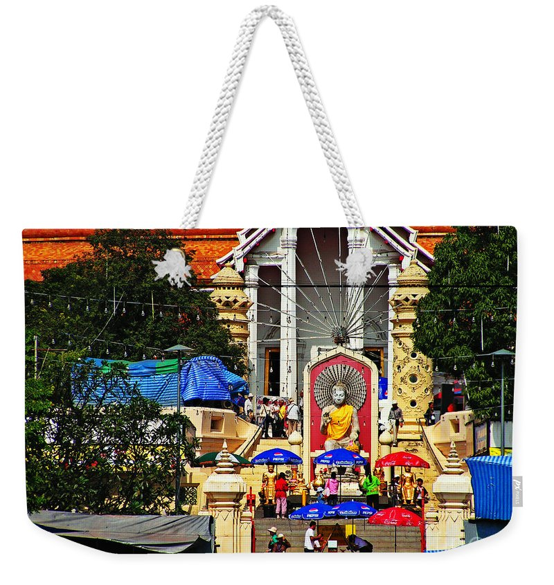 Thailand Weekender Tote Bag featuring the photograph Thailand 6 by Ben Yassa