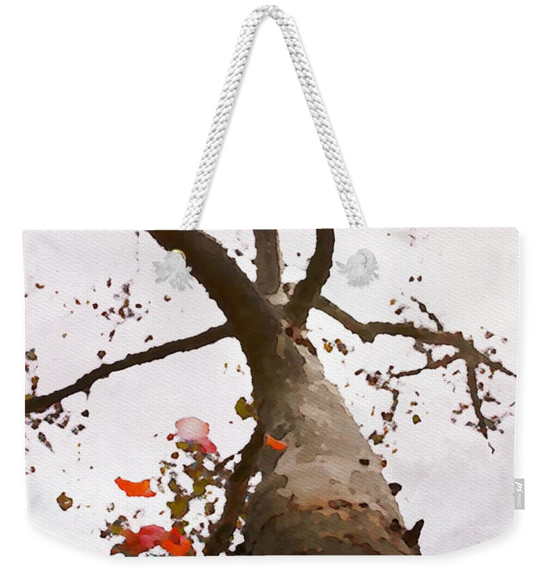 Tree Weekender Tote Bag featuring the photograph That Tree by Alice Gipson