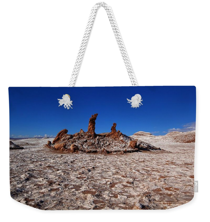 Three Marys Weekender Tote Bag featuring the photograph The 3 Marys by FireFlux Studios