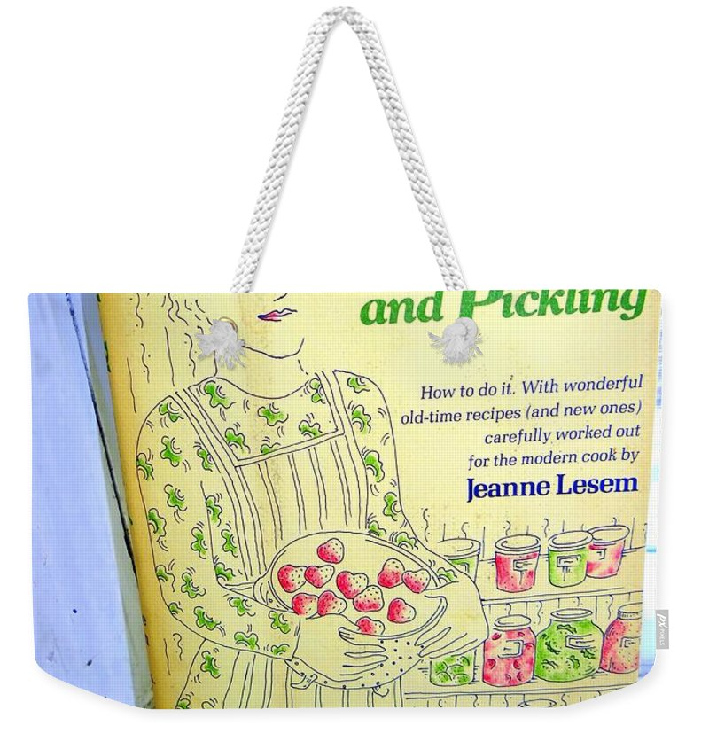 Book Weekender Tote Bag featuring the photograph The 3 P's by Ed Weidman