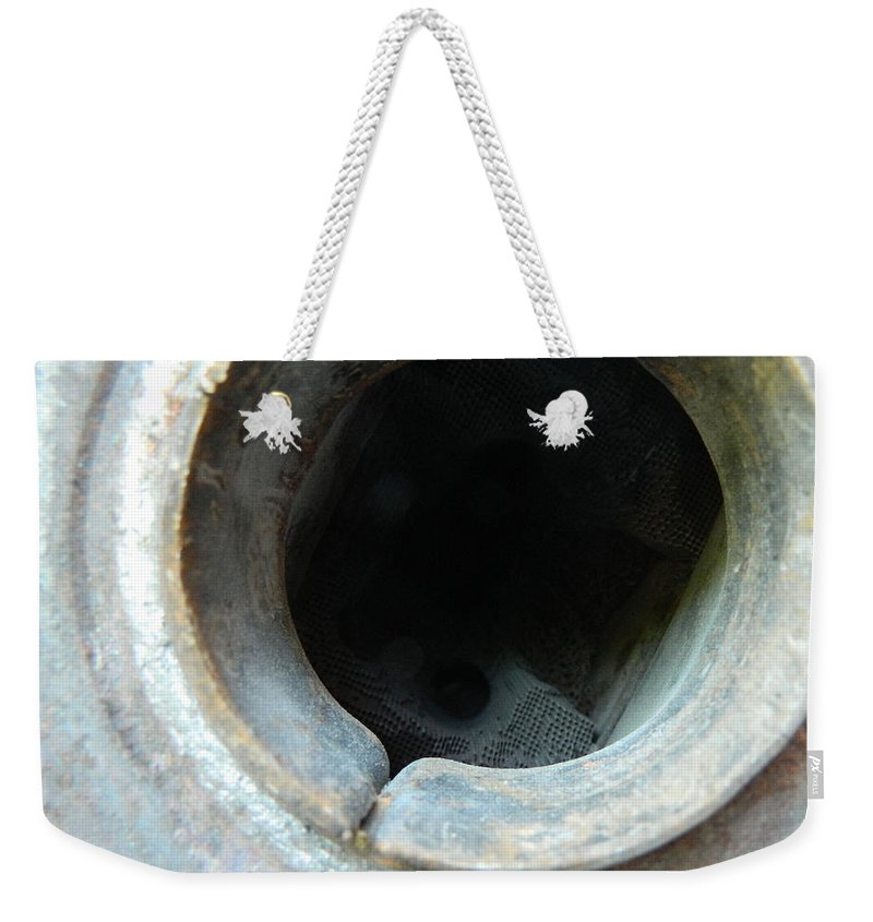 Abyss Weekender Tote Bag featuring the photograph the Abyss by George Pedro