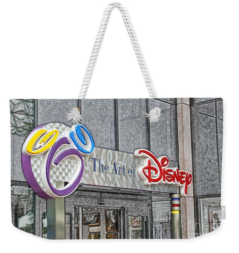 The Art Of Disney Signage Selective Coloring Digital Art Weekender ...
