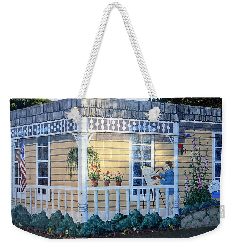 Art Weekender Tote Bag featuring the photograph The Artists Cottage by AJ Schibig