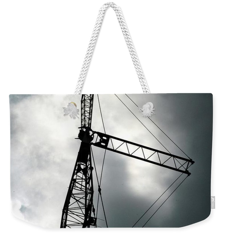 Clouds Weekender Tote Bag featuring the photograph The Arts by Joseph Yarbrough