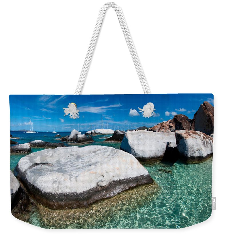 3scape Weekender Tote Bag featuring the photograph The Baths by Adam Romanowicz