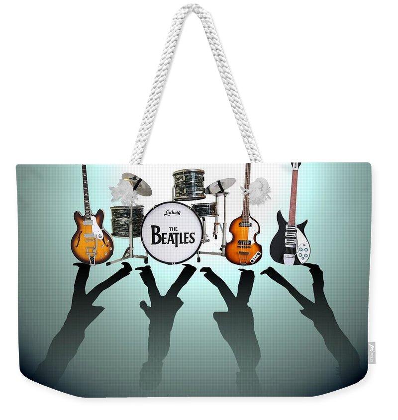 Beatles Rock Weekender Tote Bags
