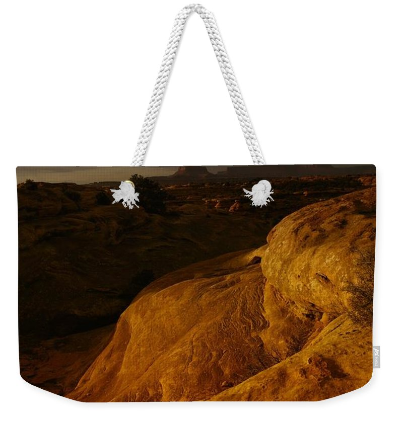 Utah Weekender Tote Bag featuring the photograph The Beauty Of Canyonlands by Jeff Swan