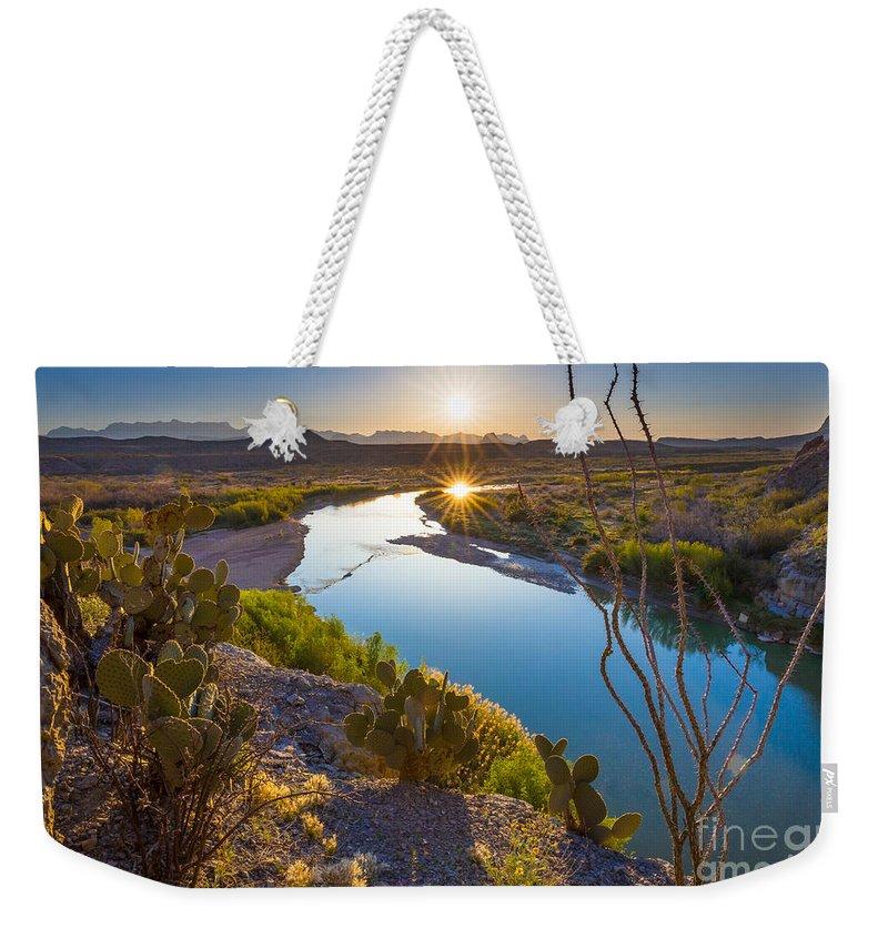 Rio Grande River Weekender Tote Bags