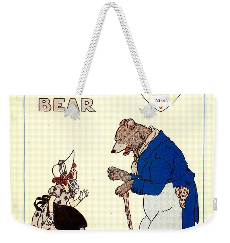 Nostalgia Weekender Tote Bag featuring the photograph The Big Brown Bear by Mel Thompson