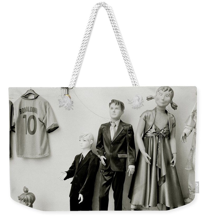 Surreal Weekender Tote Bag featuring the photograph The Bizarre Life by Shaun Higson