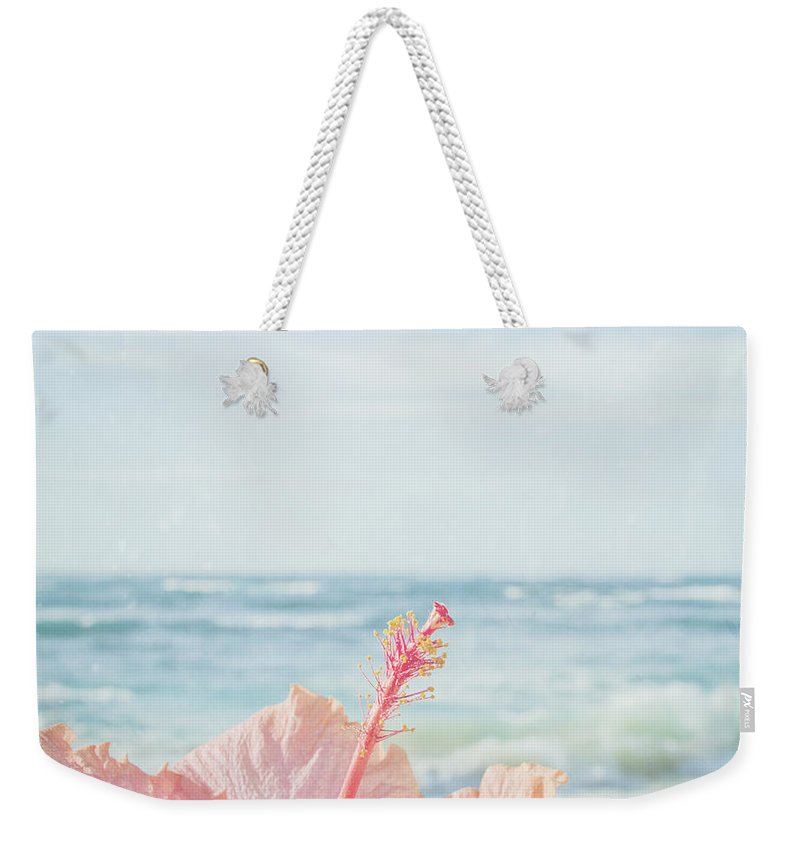 Aloha Weekender Tote Bag featuring the photograph The Blue Dawn by Sharon Mau