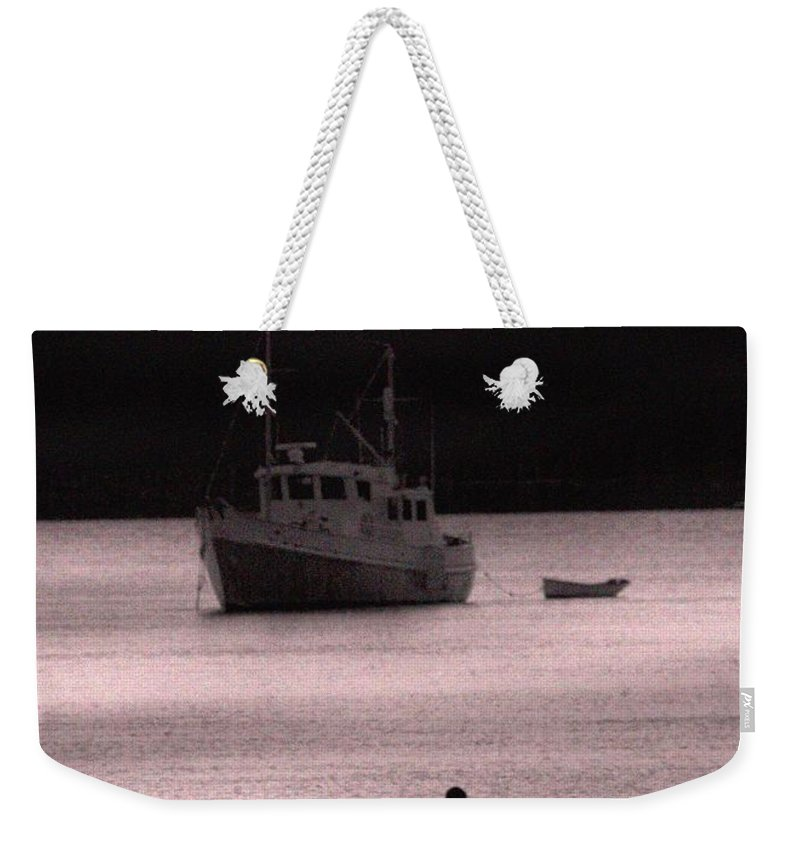 Boat Weekender Tote Bag featuring the photograph The Boat by Bob Pardue