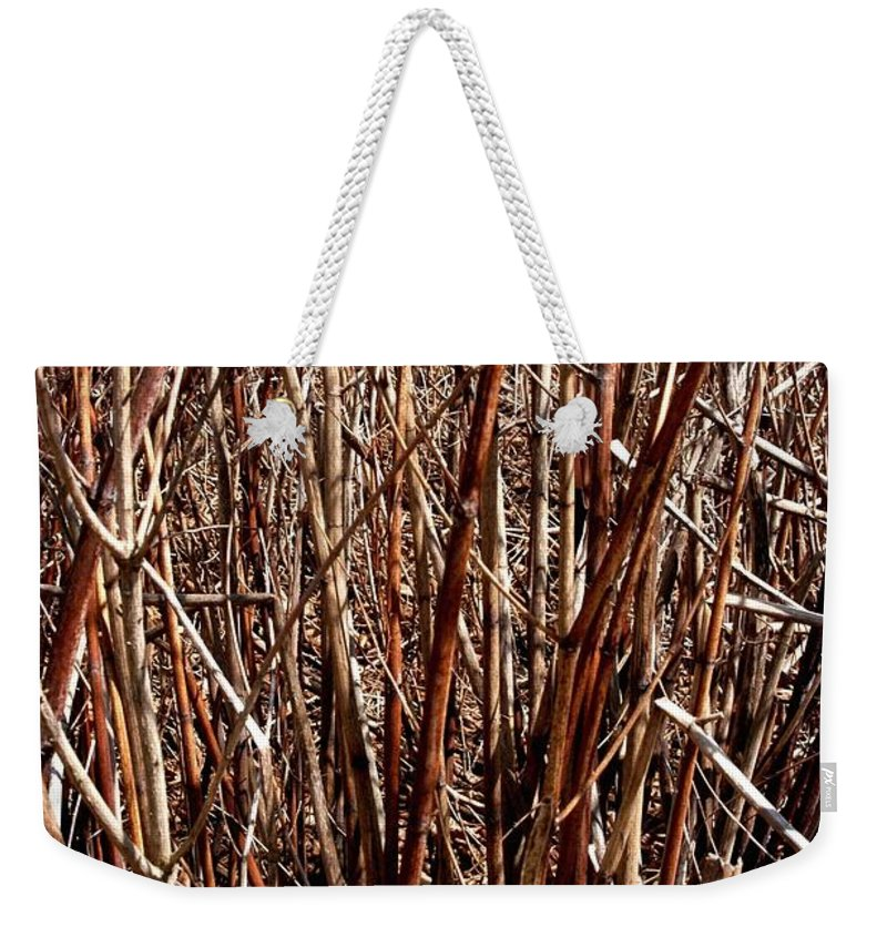 Branches Weekender Tote Bag featuring the photograph The Breaks by Joseph Yarbrough
