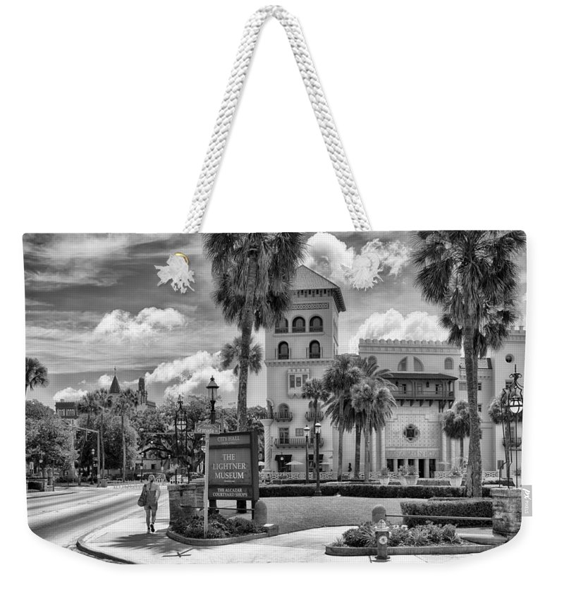 St. Augustine Weekender Tote Bag featuring the photograph The Casa Monica by Howard Salmon