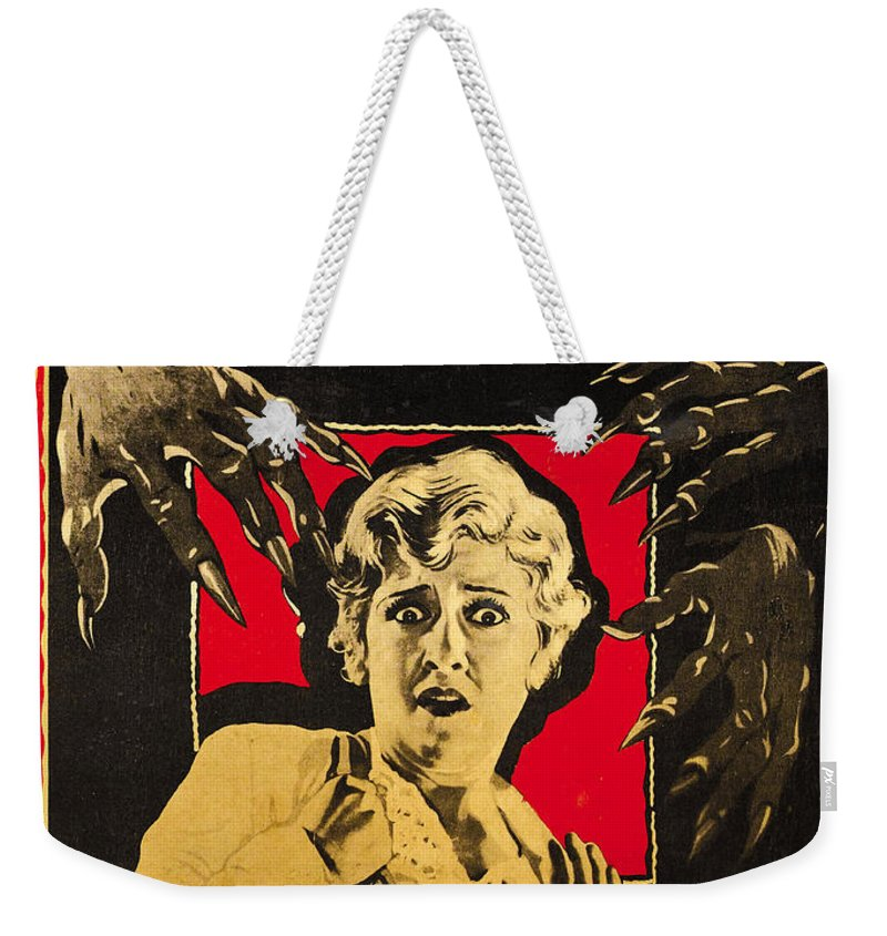 Movie Weekender Tote Bag featuring the digital art The Cat And The Canary by Universal
