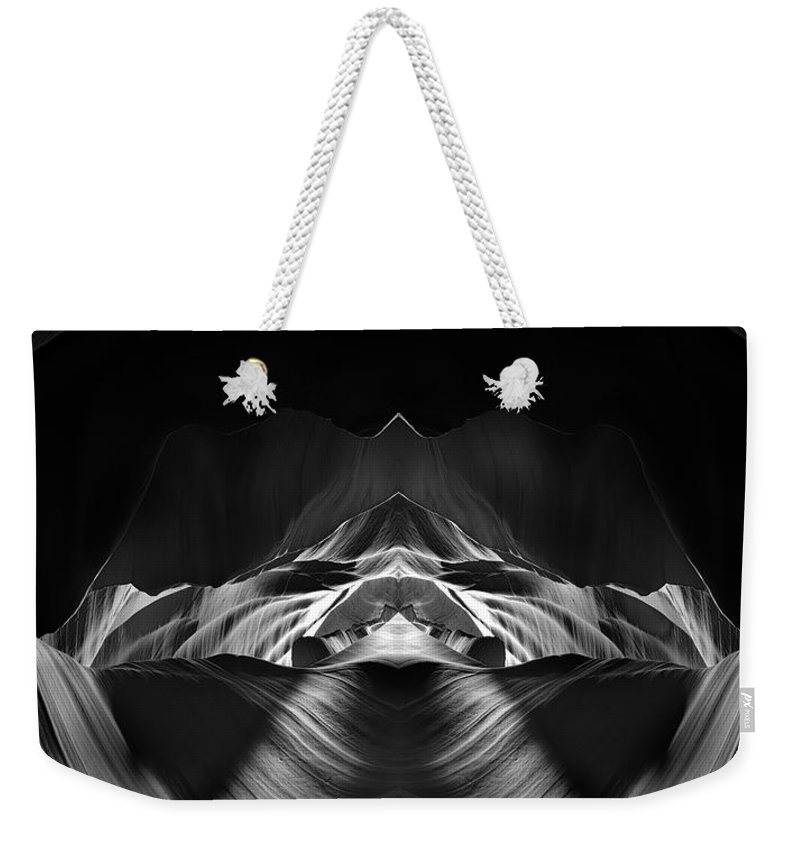 3scape Weekender Tote Bag featuring the photograph The Cave by Adam Romanowicz
