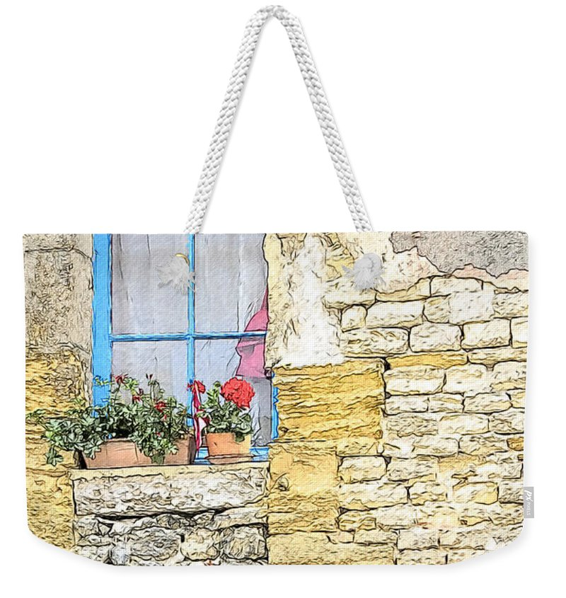 Architecture Weekender Tote Bag featuring the photograph The Charme Of The Old by Heiko Koehrer-Wagner