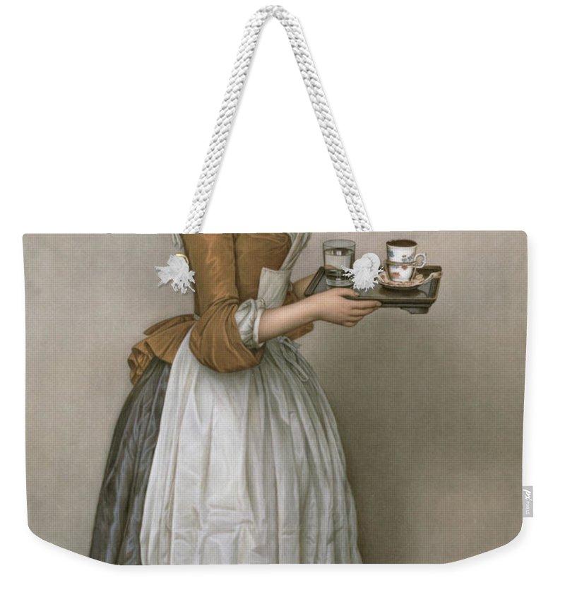 Tea Cup Weekender Tote Bags
